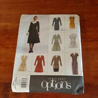 Vogue Pattern Easy Options #2193 Size 6-8-10, Misses' Dress, Tunic & skirt