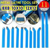11x 8/10/12mm Metall Carbid Drehbank Werkzeug Schneidend Drehen Bohren Bit DIY