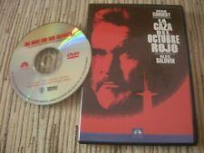 DVD PELICULA LA CAZA DEL OCTUBRE ROJO SEAN CONNERY USADO BUEN ESTADO