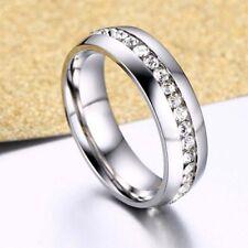 Men Women Tungsten Carbide Band Ring Comfort Fit Engagement Wedding Silver Gold