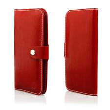 HQ Buch Klapp Tasche Flip Book Hülle Etui für Xiaomi Mi5S ROT
