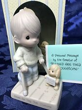 """Precious Moments """"Blessed Are They That Overcome"""" Figurine #115479 Get Well Gift"""