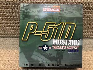 "Dragon Wings-Warbirds 1:72 P-51D Mustang ""Shark's Mouth"", Korean War, No. 50040"