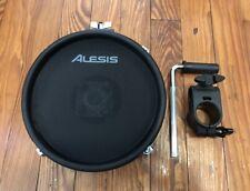 "Alesis 8"" Mesh Drum Pad NEW (Dual Zone) w/1.5"" Clamp & Bar Command"