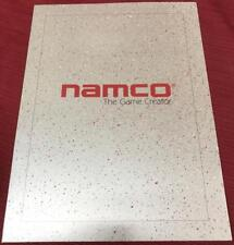 Genuine Namco Arcade Video Game Promotional 2 Pocket Folder New NOS *RARE* XXx