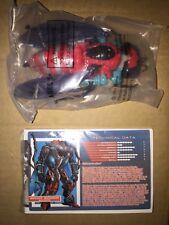 Transformers Botcon 2015 Waruder Waruders Crimson/Pewter Storm Rider Diaclone