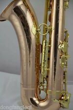 Eastern music Mark VI imported Germany copper gold lacquer tenor saxophone sax