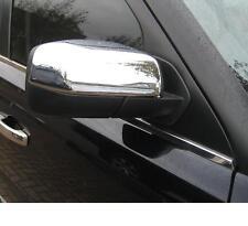 Chrome half shell MIRROR COVERS for Range Rover SPORT Diesel & V8 door wing caps