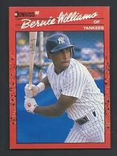Bernie Williams 1990 Donruss Rookie Card #689; NM-Mint; New York Yankees