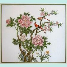 """""""Peony Tree"""" Counted Cross Stitch Leaflet"""
