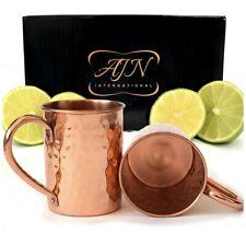 Copper Mugs Set of 2 - 16oz. Moscow Mule 100% Copper
