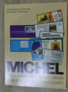 Michel Katalog privater Markenheftchen 1994/1995  Jugend - Sport - Wohlfahrt