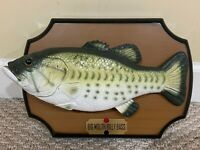 Animated Original Big Mouth Billy Bass the Singing & Dancing Fish Gemmy 1999 GUC