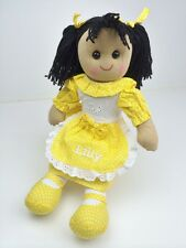 Personalised Handmade Rag Doll With 'Daisy' Design 40cm. Great Gift