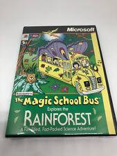 Scholastic's The Magic School Bus Explores the Rainforest (PC, 1998)