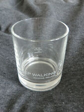 "6 Johnnie Walker Whiskey Tumbler Glas Gläser ""Keep Walking"" 2cl/4cl"