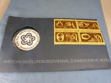 American Revolution Bicentennial Commemorative Medal & Chip in Envelope