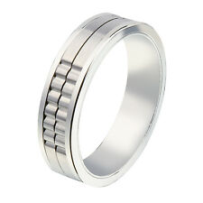 JOS VON ARX - ARX MOVABLE GROOVE RING IN PRESENTATION GIFT BOX