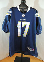 NFL San Diego Chargers Philip Rivers Jersey Sz 50 Navy Blue by Reebok ef6d7c094