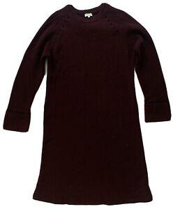 Kenzo Womens Purple Knit Dress Size S