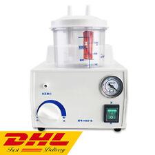 Portable Quiet Suction Unit Vacuum Phlegm Medical Emergency Aspirator Machine