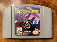 Extreme-G (Nintendo 64, 1997) N64 Video Game Cartridge Tested