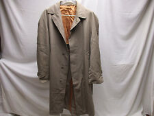 Vintage Alligator Gold Label Coat Men's Women's Water Repellent Union Made USA