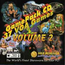Gold Medallion Game Pack 2, 37 Best VGA Games (PC-Dos, CD-Rom, Jewel Case) NEW