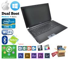 "Toshiba R950 15"" Intel i5-3340 *max* 8GB 1TB Windows MacBook OSX Hackintosh"