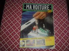 MA VOITURE N°84 TRANSMISSION FIAT 127/128 BATTERIE FREIN SERRURES FILTRE A AIR
