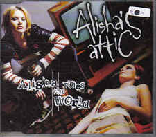 Alishas Attic Alisha Rules the world cd maxi single