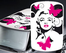 00051 Adesivi Stickers Tettino Roof Mini Cooper 500 Smart Marilyn Monroe 100x150