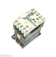 SQUARE D MOTOR STARTER RELAY 20 AMP MODEL 8502PD210E