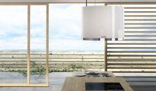 berbel Deckenlifthaube SKYLINE ROUND mit Liftfunktion in weiß - BDL 60 SKR