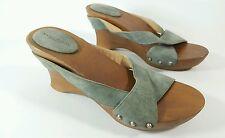 Donna Karan Collection Sandaletten Keilabsatz UK 5 EU 38