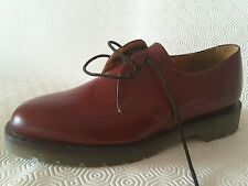 Tredair Cherry Red/OxBlood Shoes.SIZE 6.Made in England,AirWair, Premium quality