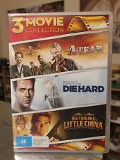3 movie collection dvd A-Team Diehard Big Trouble In Little China