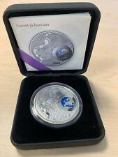 FINLAND 20 EUR Silver Coin 2010 Children's Creativity. PROOF. Colored. Box/COA