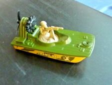 1976 Lesney England Swamp Rats Air Boat Military Vehicle MatchBox #30 SuperFast