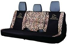 Ducks Unlimited Universal Bench Seat Cover, Truck Car Auto Grassy Camo