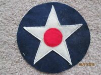 WWII US Army Air Corps Air Force AAF Star Patch Large wool