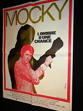 L' OMBRE D'UNE CHANCE jean pierre mocky   affiche cinema  ferracci 1974