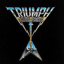 Triumph - Allied Forces [New Vinyl LP] Colored Vinyl, Gold, Ltd Ed, Slipsleeve P