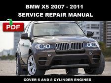 2007 2008 2009 2010 2011 BMW X5 (E70) OEM SERVICE REPAIR WORKSHOP MANUAL