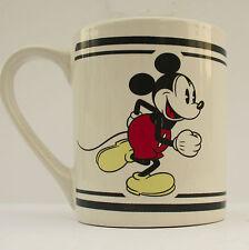 Disney Mickey Mouse Mug Retro Original Ceramic Porcelain Cup Gibson