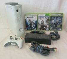 Microsoft Xbox 360 (20 GB) Bundle with 3 Games incl. Halo Wars