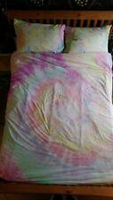 Tiedye Bed Set Bedsheets Bedding King size