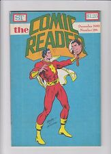 THE COMIC READER ISSUE #186 DECEMBER 1980 FANZINE MAGAZINE NEWTON ADKINS COVER