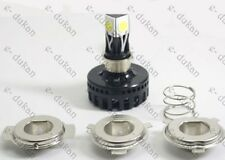 H4/ M3- 3 LED HID KIT Bright Light BIKE / CAR Headlight HIGH / LOW BEAM