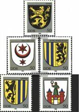 DDR 2857-2861 (kompl.Ausgabe) gestempelt 1984 Stadtwappen